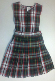 GIRLS PLAID SKIRT (3-6)