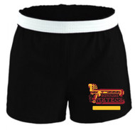 SUNRISE LADIES BLACK SOFFE PE SHORTS (S-XL)