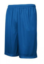ADULT ROYAL BLUE PE SHORTS
