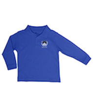 BAYER PRESCHOOL LONG SLEEVE PIQUE POLO