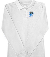 BAYER JUNIOR LONG SLEEVE INTERLOCK POLO