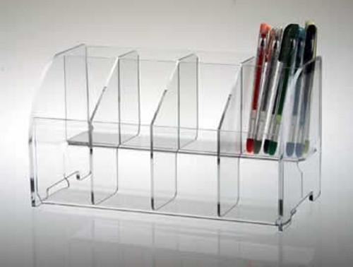 Pen Display 8 Compartments #8362
