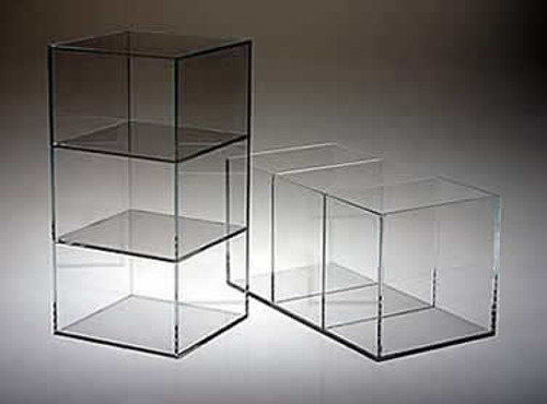 Acrylic Box with 2 Dividers #8714