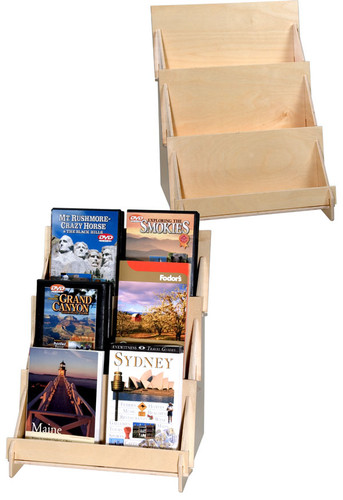 3 Tier Plywood Display (4908)