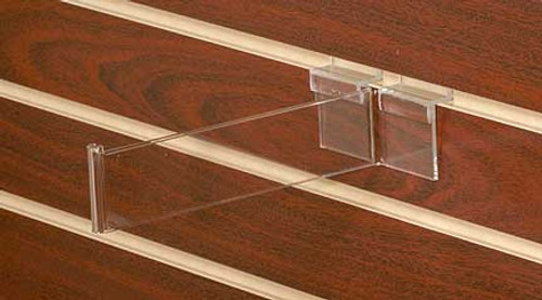 Clear Acrylic Slatwall Hook (8570)