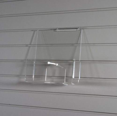 Clear acrylic floor spinner, perfect for displaying CDs, DVDs, journals, books, and gifts.