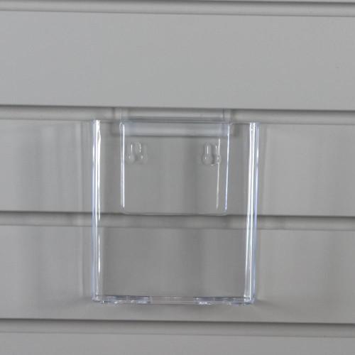 clear acrylic brochure holder