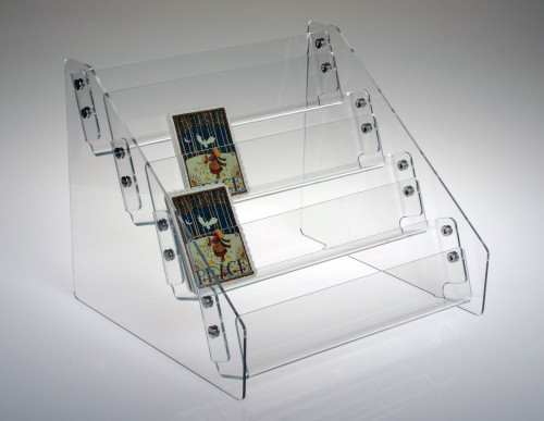 4 Tier Gift Enclosure Rack 8909