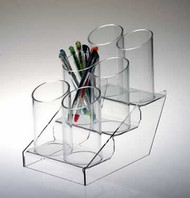 6 Tube Pen Display  #8385