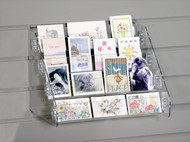 Gift Enclosure/Mini Book Display for Slatwall #8907sw