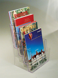Tiered Counter Brochure Holders (#B4C)