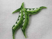 Peas Beans 3 Vegetable Embroidered Iron On Applique Patch