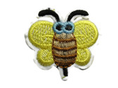 Baby Big Eyed Bee Economy Embroidered Iron On Patch Applique