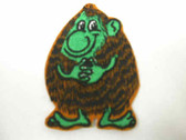 Comical Gnome Gremlin Embroidered Sew On Patch