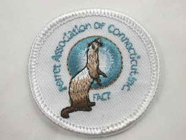 Ferret Assn of CT Iron On Applique Patch