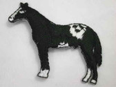 Appaloosa Horse Iron On Embroidered Applique Patch