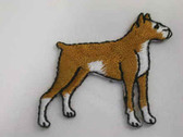 Boxer Embroidered Iron On Patch