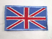 Great Britain British Flag Iron On Patch 3.25 Inch