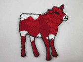 Pinzgauer Bull Iron On Embroidered Applique Patch