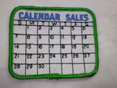 Calendar Sales Sew On Applique Patch