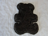 Brown Fur Baby Bear Iron On Patch 3.5 Inch