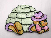 Turtle Tortoise Child Pastels Iron On Patch 2.25 In