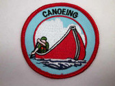 Canoeing Emblem Sew On Patch Paddling
