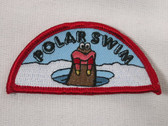 Polar Arctic Swim Walrus Emblem Sew On Applique Patch