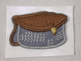 Mini Fishing Cree Tackle Embroidered Stick On Applique Patch