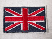 Great Britain British Flag Iron On Patch 2.38 In