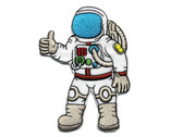 Astronaut Embroidered Iron On Patch Applique Badge 3.5 Inches