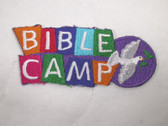 Bible Camp Christian Dove Iron On Patch 2.75 In