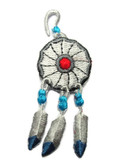 Native American Dreamcatcher Iron On Patch 2.75