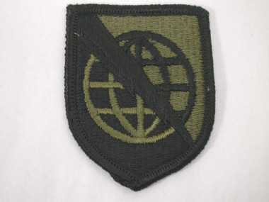Army Military US Strategic Command Sew On Patch