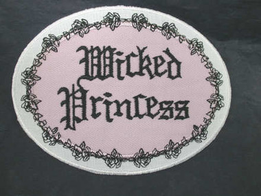 Wicked Princess Iron On Applique Patch
