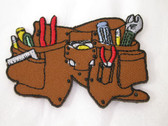 Tool Belt Kit Contractor Kids Iron On Patch