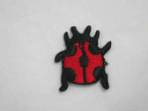 Ladybug Embroidered Iron On Appliques Patches .75 In