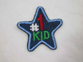 Kid Star Embroidered Iron On Applique Patch 1.25 In
