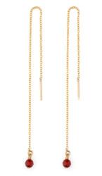 Birthstone Chain Earrings