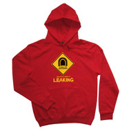 Tunnel Leaking Red Hoodie