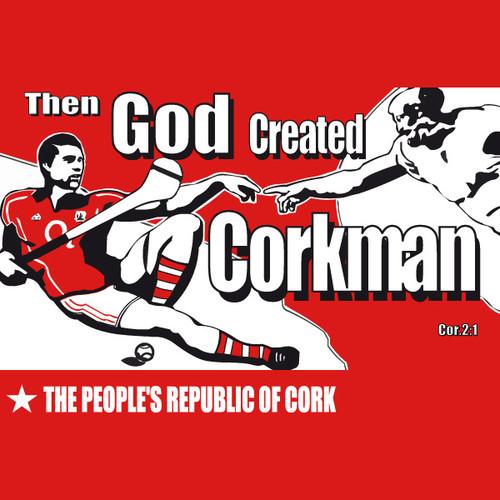 Then God Created Corkman Mens T Shirt