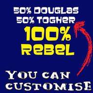 100% Rebel Baby Bodysuit