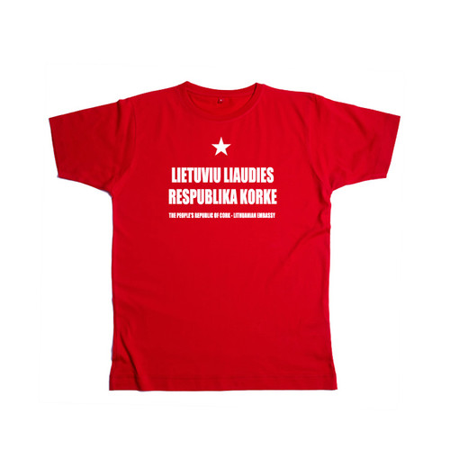 PROC T-shirt in Lithuanian (red)