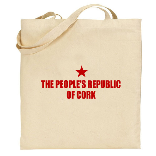 The People's Republic of Cork tote bag