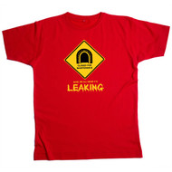 Tunnel Leaking Mens Red T Shirt