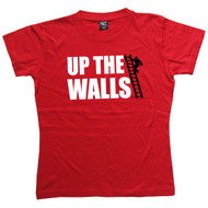 Up The Walls Womens Red T Shirt