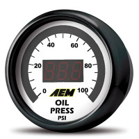 AEM- Electronics Digital Display Gauge
