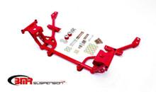 BMR- 2011-14 Tublar K-member w/Std Motor Mounts & Rack Mounts