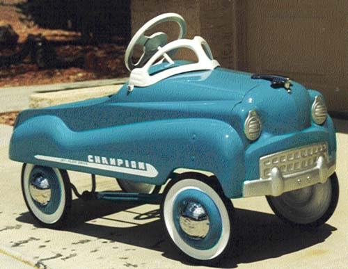 Vintage Pedal Car Parts : Vintage pedal cars c n reproductions inc