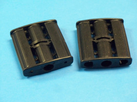 Pedal Car Pedals Black Plastic